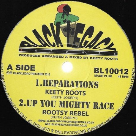 Keety Roots - Reparations / Dubarations - 10""