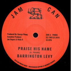Barrington Levy - Praise His Name - 12""