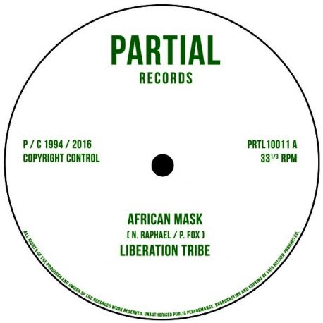 Liberation Tribe / Paul Fox  - African Mask / Writing on the Wall - 10""