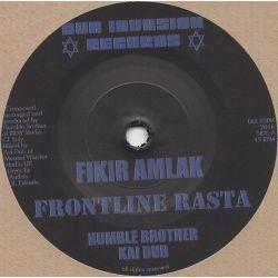 """Fikir Amlak -  Frontline Rasta - 7"""""""