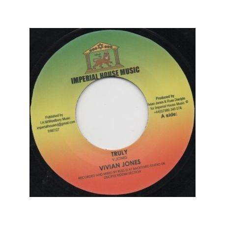 """Vivian Jones - Truly   - 7"""""""