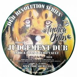 """Indica Dubs / Echo Vault - Judgement Dub - 7"""""""