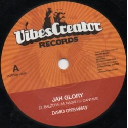 David Oneaway - Jah Glory - 7""