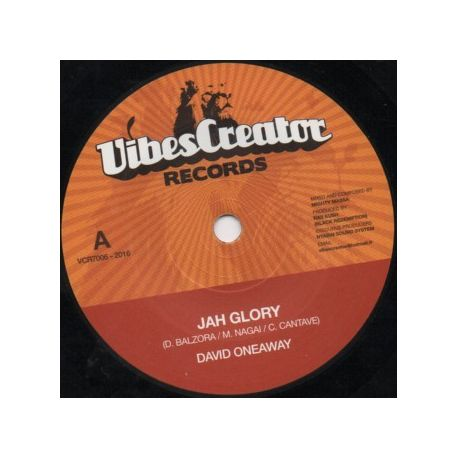 """David Oneaway - Jah Glory - 7"""""""