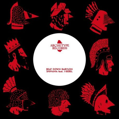 Shimana / I-Rebel - Beat Down Babylon - 7""