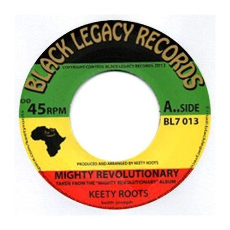 Keety Roots - Mighty Revolutionary - 7""