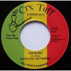 "Black Skin The Prophet - Red Blood - 7"""