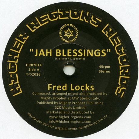 Fred Locks - Jah Blessings - 7""