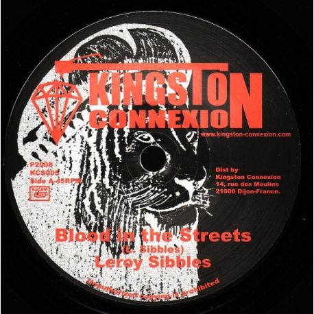 Leroy Sibbles - Blood In The Streets - 7""