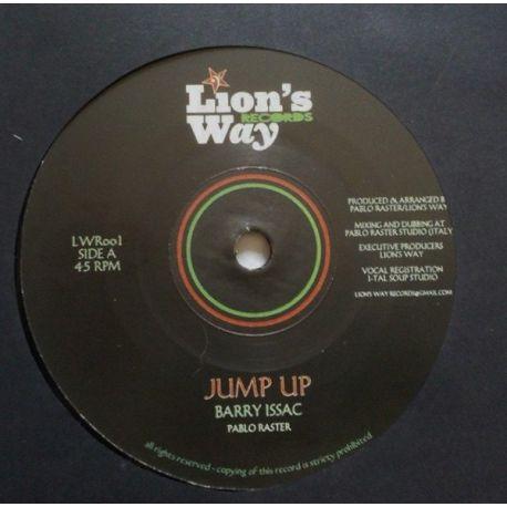 "Barry Issac / Pablo Raster / Sandro Paradisi - Jump Up / Rejoice Accordub - 7"""