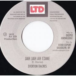 Everton Dacres - Jah Jah Ah Come / Version Ah Come - 7""