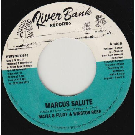 "Mafia & Fluxy / Winston Rose - Marcus Salute - 7"""