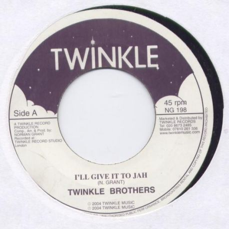 Twinkle Brothers - I'll Give It To Jah - 7""