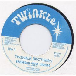 """Twinkle Brothers - Skeleton Inna Closet - 7"""""""