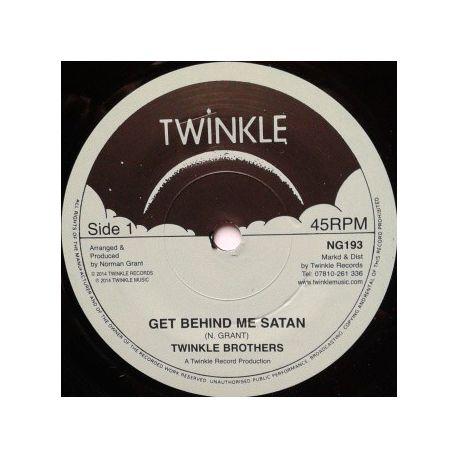 """Twinkle Brothers - Get Behind Me Satan  - 7"""""""