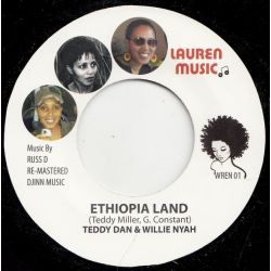 Teddy Dan / Willie Nyah / Lauren Shelton /  - Ethiopia Land / Bohemian Grove - 7""