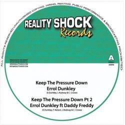 Errol Dunkley / Daddy Freddy / Solo Banton - Keep The Pressure Down - 10""