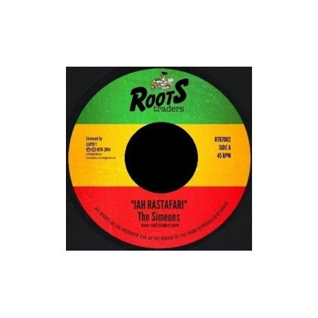 The Simeons - Jah Rastafari - 7""