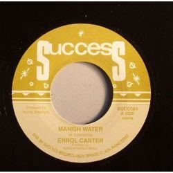Errol Carter - Manish Water - 7""