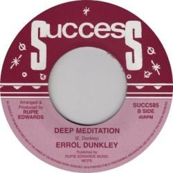 Errol Dunkley - Down Below - 7""