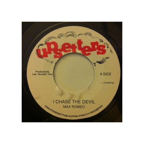 Max Romeo - I Chase The Devil - 7""