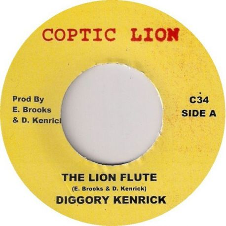 Diggory Kenrick - The Lion Flute - 7""