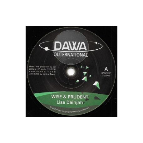 Lisa Dainjah - Wise & Prudent - 7""