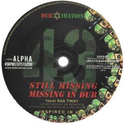 Dub Iration / Addis Pablo - Still Missing / Still Forward  - 10""