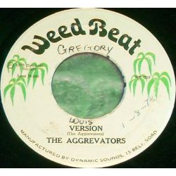 Johnny Clarke / The Aggrovators - Peace And Love In The Ghetto - 7""