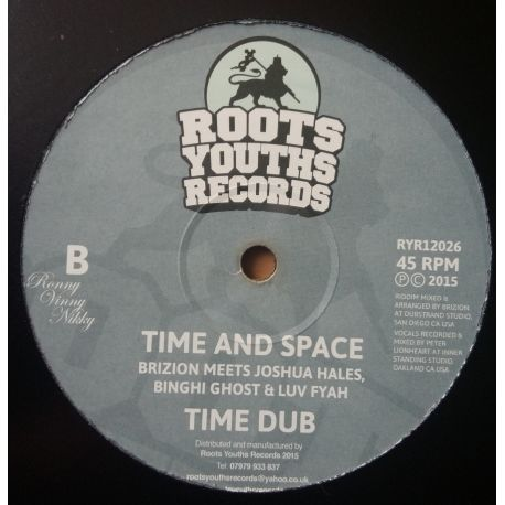 Dre Z / Brizion  - Shrine / Time And Space - 12""