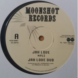 "Nyle - Jah Love /   Greetings  - 10"" - Moonshot Records"