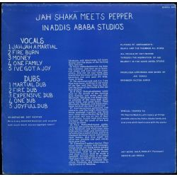 Jah Shaka / Sgt. Pepper - In Addis Ababa Studio's - LP