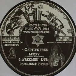 Lexxy  / Roots Hitek Players - Captive Free / Mashonaland - 10""