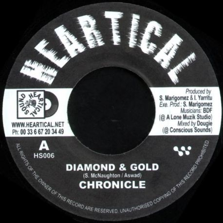 Chronicle - Diamond & Gold - 7""