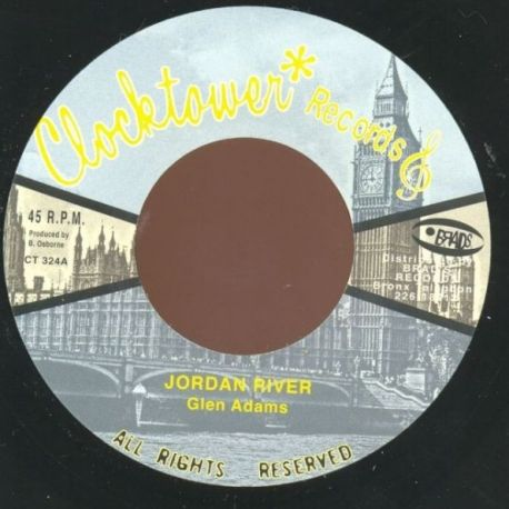 Glen Adams - Jordan River - 7""
