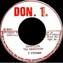 Immortals - Babylon - 7""
