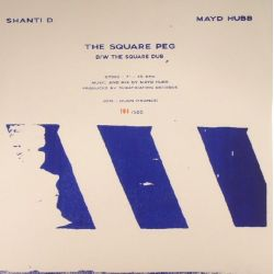 Shanti D - The Square Peg   - 7""