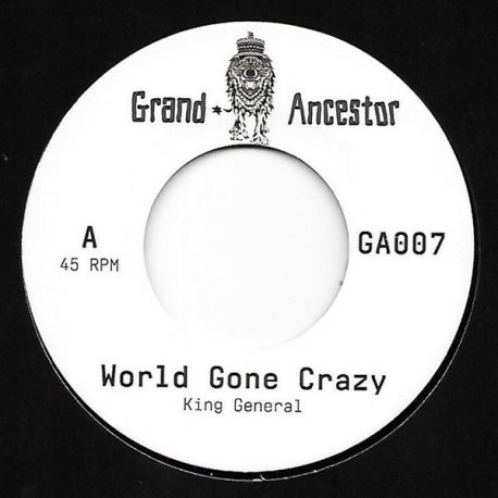 King General / Adam Prescott - World Gone Crazy / Dub Gone Crazy - 7""