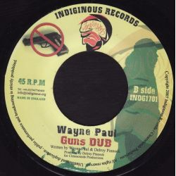 Wayne Paul - Guns Them Down - 7""