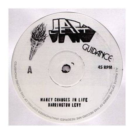 Barrington Levy / The Roots Radics - Many Changes In Life / Many Changes In Life (Dub) - 10""