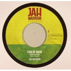 Jah Warrior - Star of David - 7""