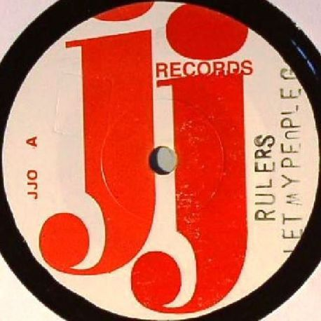 The Rulers / Laurel Aitken - Let My People Go / Rise And Fall - 7""