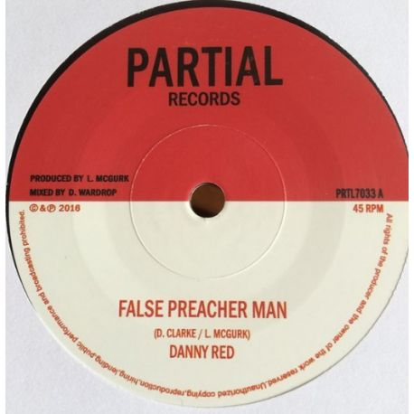"Danny Red / Partial Crew - False Preacher Man / Blind Shepherd Version - 7"""