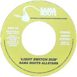 "Solo Banton / Sama Roots Allstars - Neva Hear / Light Switch Dub - 7"""
