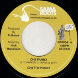 Ghetto Priest - One Family - 7""
