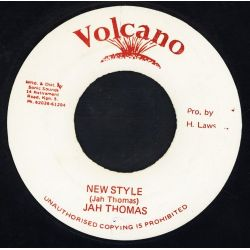 "Jah Thomas - New Style - 7"""