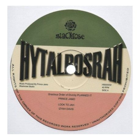 Prince Jamo / Izyah Davis - Gracious Order Of Divinity - Planned It / Look To Jah - 12""