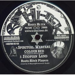 Colour Red - Spiritual Warfare / When I Rise - 10""