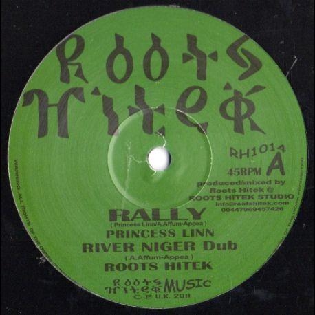 """Princess Linn / Murray Man / Roots Hitek /  - Rally / Lift Up - 10"""""""