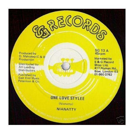 "Nianatty - One Love Stylee - 12"""